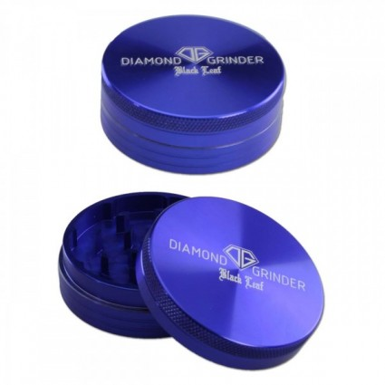 Black Leaf Diamond Al Grinder 2-part BLUE