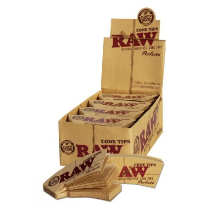 'RAW' Cone Tips perforated