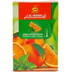 Vesipiibu Tubakas AL Fakher Orange With Mint