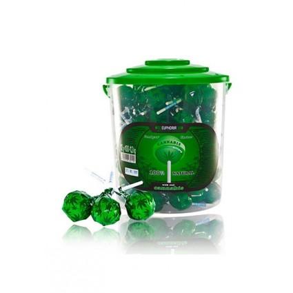 'Euphoria' Lollipops 'Cannabis'