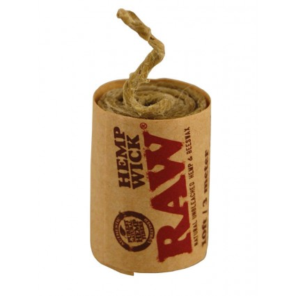 Raw Hemp Wick Roll