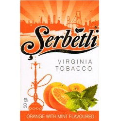 Vesipiibu Tubakas Serbetli Orange With Mint 125g