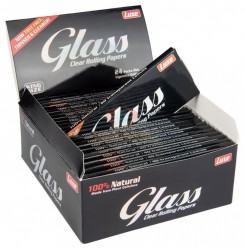 Glass king size rolling paper