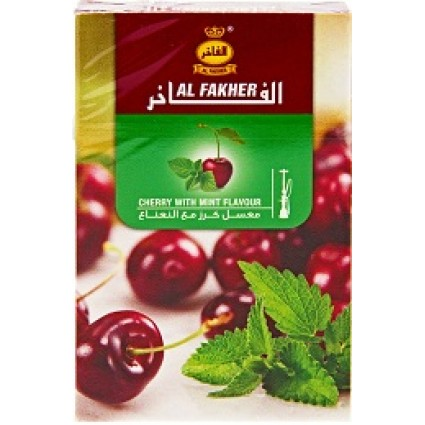 Vesipiibu Tubakas AL Fakher  Cherry With Mint