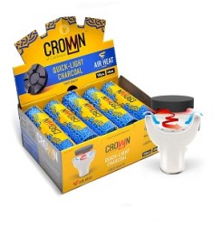 Vesipiibusüsi Carbopol crown 40mm (100 tabletti)