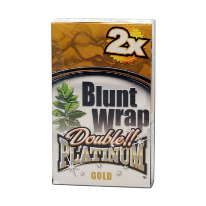 Blunt Wrap Platinum Gold